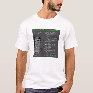 Magnet field of solenoid T-Shirt