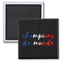 Magnet football France world champions 2018