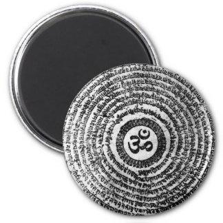 magnet, fridge,india, om mani padme hum,mantra magnet