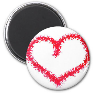 magnet, fridge, valentine' s day, love 2 inch round magnet