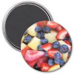 Magnet, Fruit Salad Bouquet 3 Inch Round Magnet