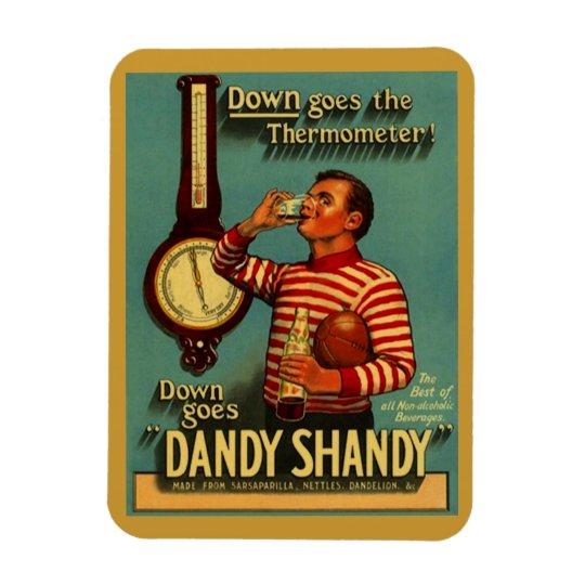 Magnet Fun Vintage Down Dandy Shandy advertisement