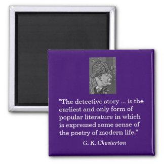 Magnet - G K Chesterton on the detective story