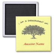 Magnet - Genealogy tree magnet
