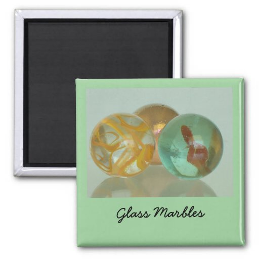 Magnet - Glass Marbles