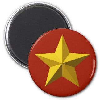 Magnet - Gold Star