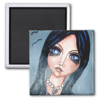 magnet gothic girl
