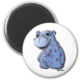 Magnet - Haley Hippo