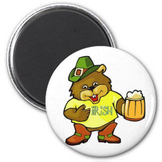Magnet-Happy St. Paddy's Day Irish 2 Inch Round Magnet