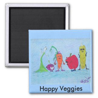 Magnet - Happy Veggies