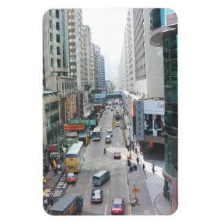 Magnet Hong Kong China day photograph City Street