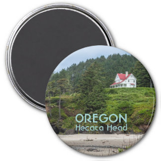 Magnet: House At Hecata Head (Round)