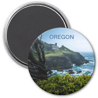Magnet: House On Otter Crest (Round)