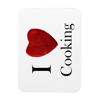 Magnet I love Cooking