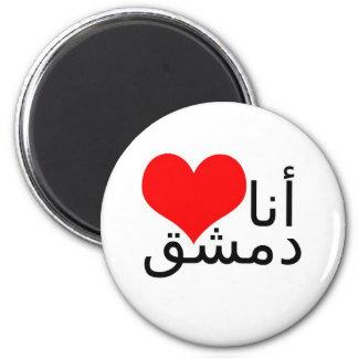 Magnet - I love Damascus