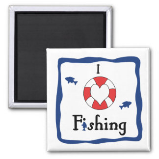 Magnet - I Love Fishing