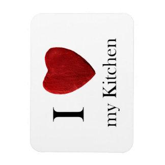 Magnet I love my kitchens