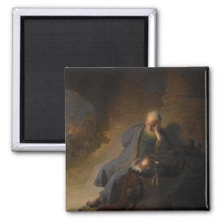 Magnet Jeremiah Jerusalem Rembrandt Magnets