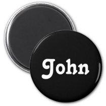 Magnet John
