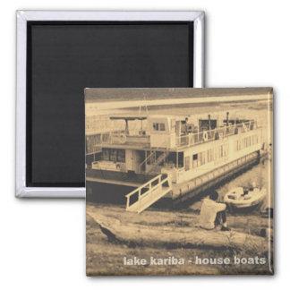 Magnet_Kariba_houseboats Fridge Magnets