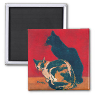 Magnet:  Les Chats by Theophile Steinlen