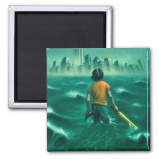 Magnet_Lightning Thief 2 Inch Square Magnet