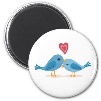 Magnet: Lovebirds