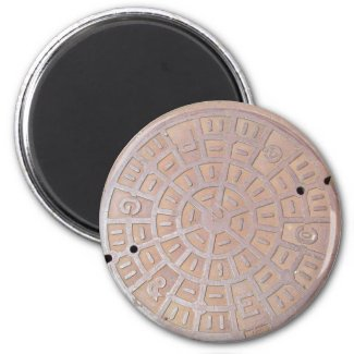 Magnet - Manhole cover