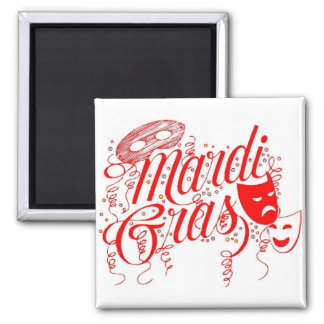 Magnet-Mardi Gras Magnet