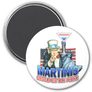 Magnet - Martinis Should be Tax Free