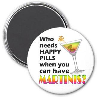 Magnet - Martinis v. Happy Pills