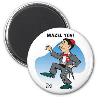 Magnet: Mazal Tov 2 Inch Round Magnet