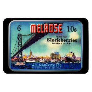 Magnet - Melrose Blackberries, by GalleryGifts
