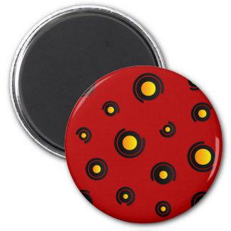 """Magnet - Model """"Sphéris"""" - Red"""