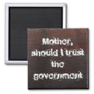Magnet Mother, should I trust the govern...