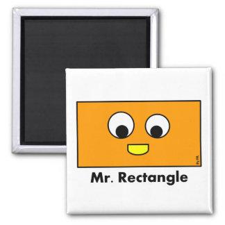 Magnet Mr. Rectangle By Par3a