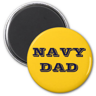 Magnet Navy Dad Refrigerator Magnet