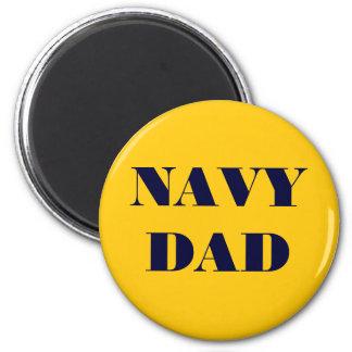 Magnet Navy Dad Fridge Magnet