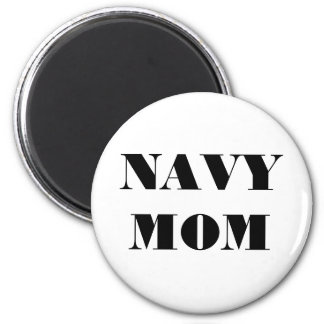 Magnet Navy Mom