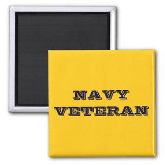 Magnet Navy Veteran Fridge Magnet