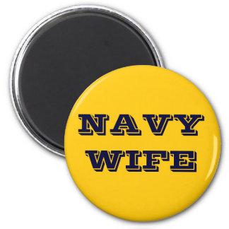 Magnet Navy Wife