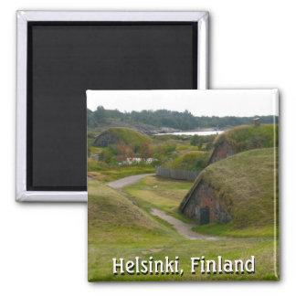 Magnet of Soumenlinna Island, Helsinki, Finland