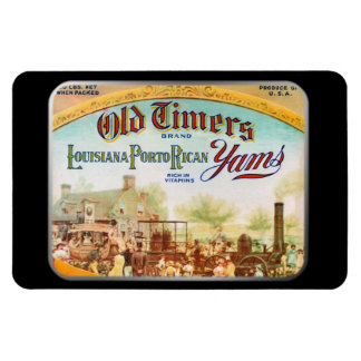 Magnet - Old Timers Yams, by GalleryGifts