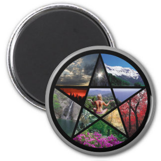 magnet Pentacle Collage