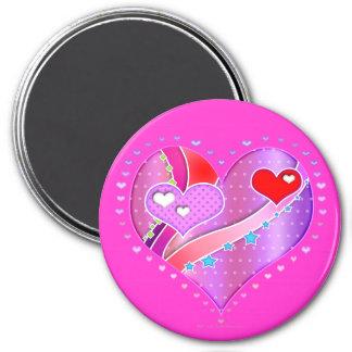 Magnet - Pink Heart, Valentine