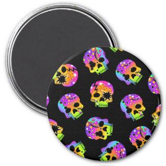 Magnet - POP ART SKULLS