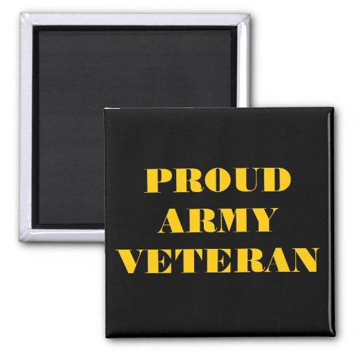Magnet Proud Army Veteran Magnet