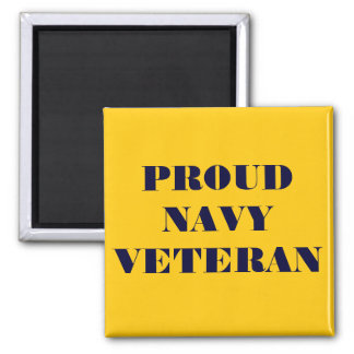 Magnet Proud Navy Veteran Fridge Magnet