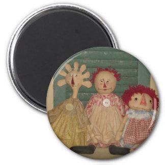 Magnet - Rag Dolls