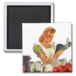 Magnet ~ RETRO KITCHEN Mid-Century Home Canning
